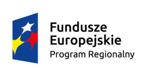 Logo i napis: Fundusze Europejskie. Program regionalny