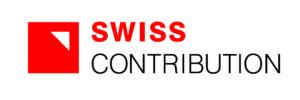 Logo z napisem Swiss Contribution