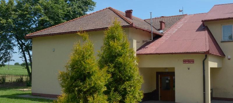 Budynek Domu Kultury w Zagórzu