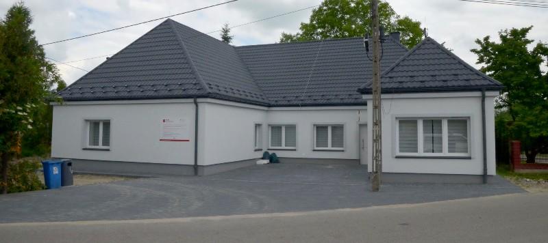 Budynek Domu Kultury w Zakrzowcu