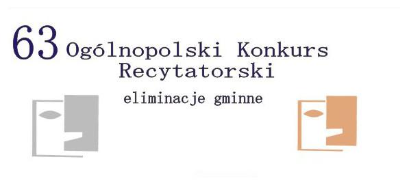 Ogólnopolski Konkurs Recytatorski Wydarzenia Niepołomice