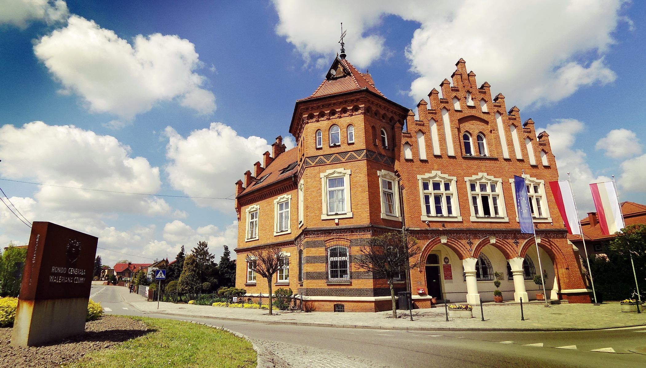Budynek magistratu.