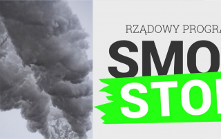 plakat programu Stop Smog