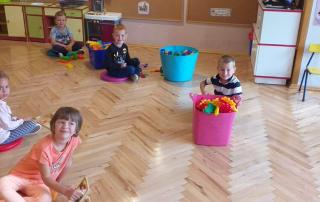 Pierwszy dzień roku szkolnego w przedszkolu w Podłężu