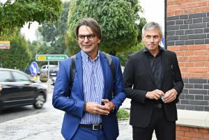 Burmistrz Roman Ptak i wiceburmistrz Adam Twardowski