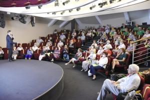 Wykład Uniwersytetu Trzeciego Wieku w Małopolskim Centrum Dźwięku i Słowa