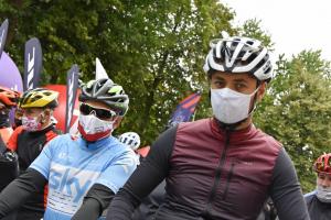 Zawodnicy przed startem Wyścigu by Tomasz Maryczyński