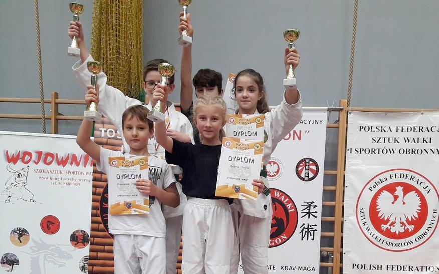 Medaliści Pucharu Europy na podium