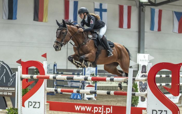Marta Wypiór i Gina Royalty, konkurs CSI2* Gold Round (140 cm)