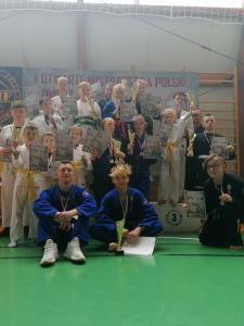 Zawodnicy klubu Challenge Ju-Jitsu Niepołomice