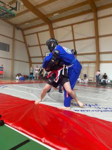 Walka podczas Mistrzostw Polski Combat Ju-Jutsu w formule full contact