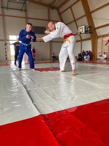 Walka podczas Mistrzostw Polski Combat Ju-Jutsu