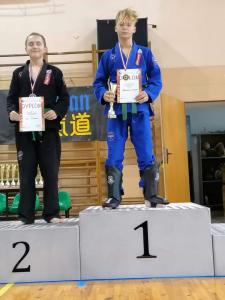 Bartek, zdobywca 1 miejsca podczas Pucharu Polski Combat Aikido
