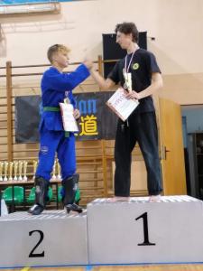 Bartek, zdobywca 2 miejsca podczas Pucharu Polski Combat Aikido