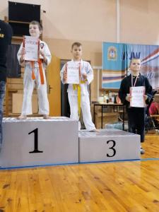 Franek, zdobywca 3 miejsca podczas Pucharu Polski Combat Aikido