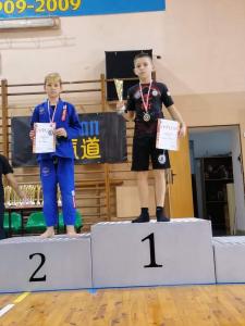Jan, zdobywca 2 miejsca podczas Pucharu Polski Combat Aikido