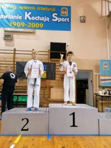 Karol, zdobywca 2 miejsca podczas Pucharu Polski Combat Aikido