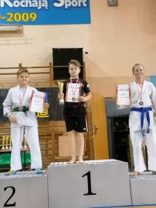 Ksawery, zdobywca 2 miejsca podczas Pucharu Polski Combat Aikido