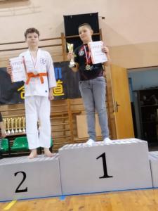 Michał, zdobywca 2 miejsca podczas Pucharu Polski Combat Aikido