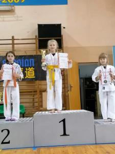 Milena, zdobywczyni 1 miejsca podczas Pucharu Polski Combat Aikido