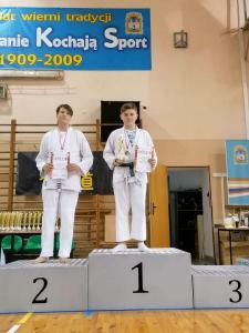 Oskar, zdobywca 1 miejsca podczas Pucharu Polski Combat Aikido