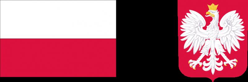 Państwowy fundusz celowy logotypy: flaga i godło Polski