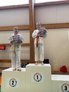 Izabella, zdobywczyni 1 miejsca podczas II Liga Combat Ju-Jutsu