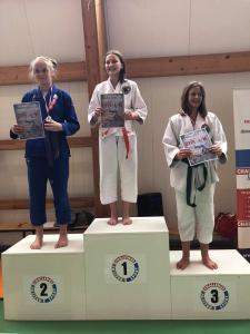 Natalia zdobywczyni 2 miejsca podczas II Liga Combat Ju-Jutsu