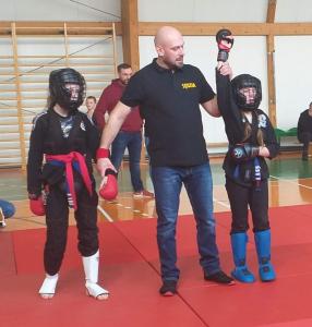 Oliwia podczas II Liga Combat Ju-Jutsu