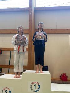 Oliwia zdobywczyni 1 miejsca podczas II Liga Combat Ju-Jutsu