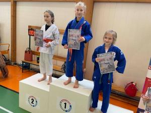 Milena, zdobywczyni 1 miejsca, Pola zdobywczyni 3 miejsca podczas II Liga Combat Ju-Jutsu