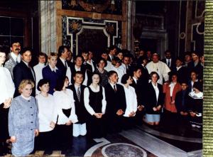 Audiencja niepołomiczan u Ojca Św. - 9 marca 1997 r.