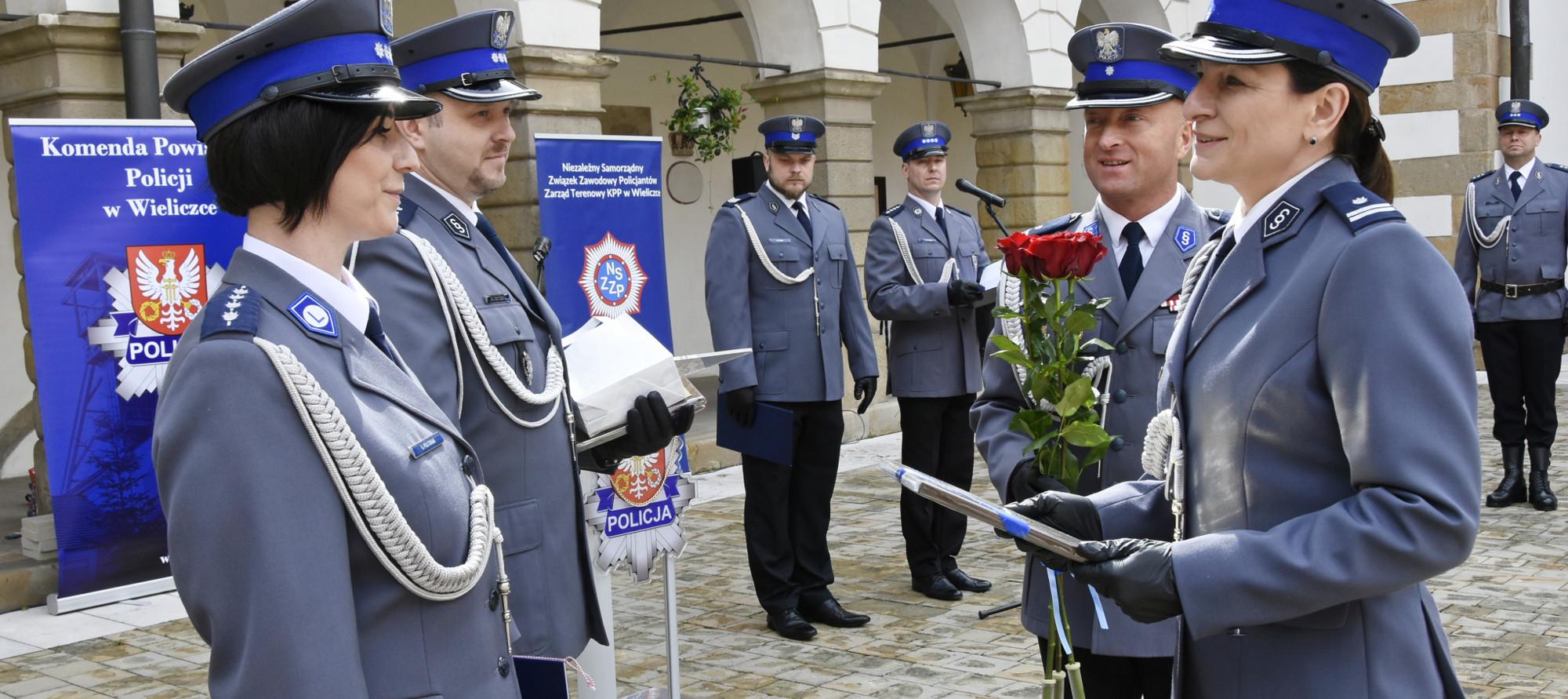 Mianowanie komendanta Komisariatu Policji w Niepołomicach