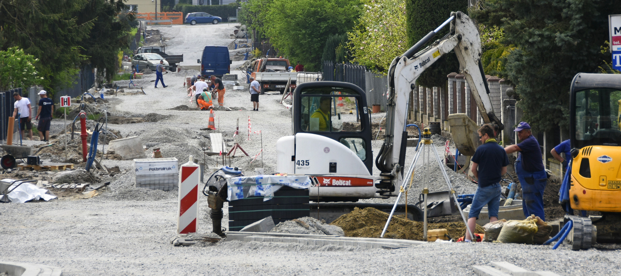Przebudowa ul. Kolejowej w Podłężu