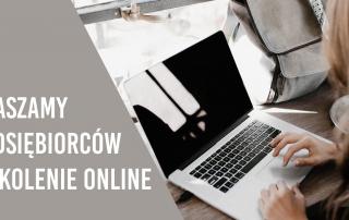 Szkolenie online dla przedsiębiorców
