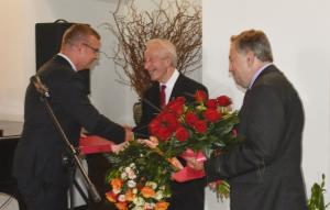 Podziękowania dla prof. Bogusława Grzybka