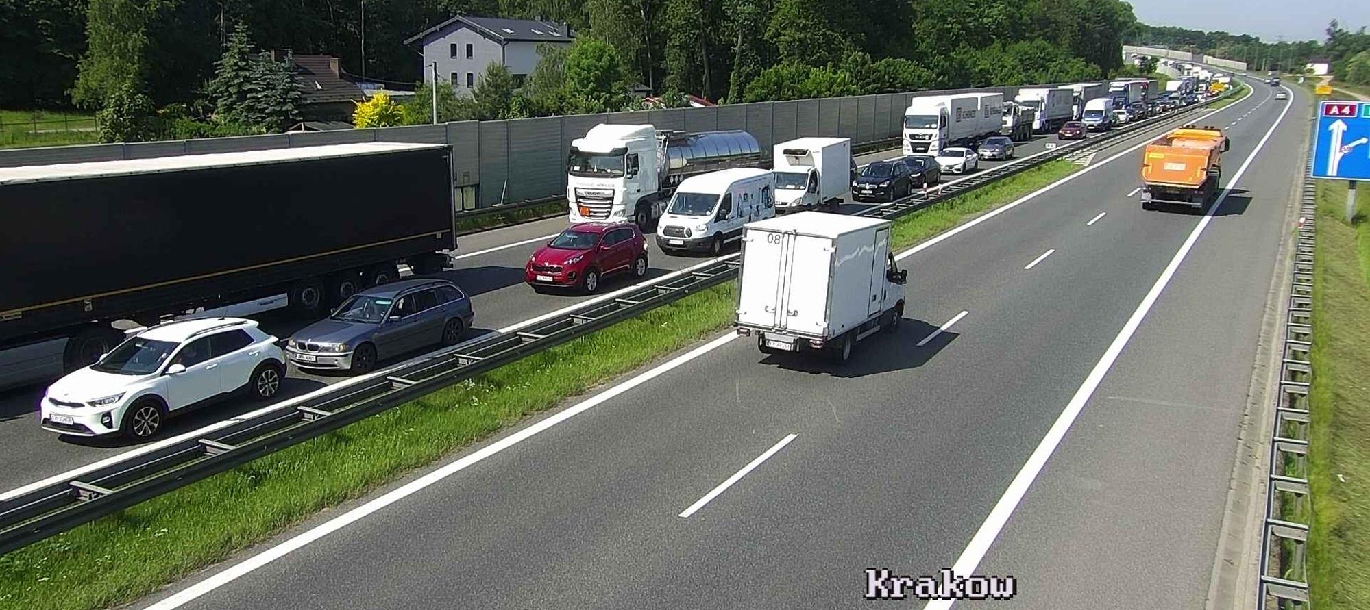 korek autostrada A4