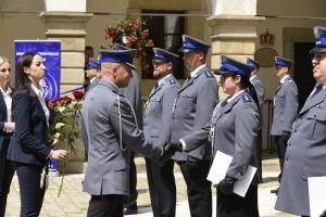 Powiatowe Święto Policji - wręczenie aktów mianowania