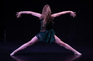 Maja Salamaga w tańcu