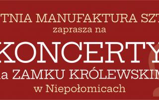 Zaproszenie na koncerty Letniej Manufaktury Sztuki