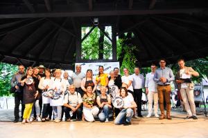 Grill u burmistrza - zdjęcie grupowe