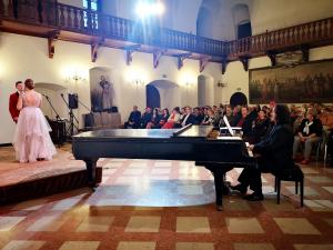 Duo Performance i publiczność Muzyczna Mozaika