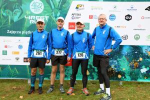 zawodnicy startujący w Biegu 4 Rest Run