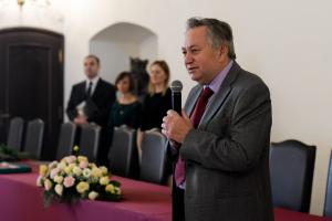 Przewodniczący Rady Miejskiej Marek Ciastoń